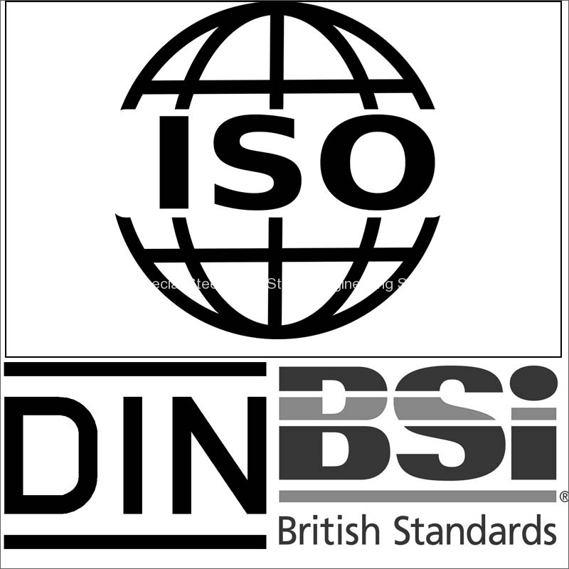 iso 4957 - bs en 4957 - din en 4957 tool steel standard