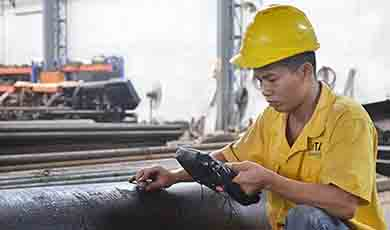 a-ut-test for all tool steel and alloy steel