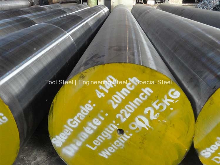 """4140 Steel Round Rod Cold Finish Al... Annealed Made in USA 1/"""" Diam x 6/' Long"""